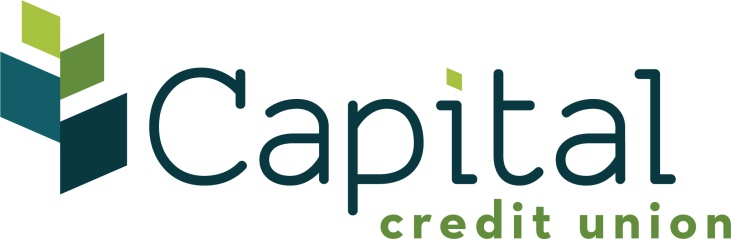 This is the Capital Credit Union Logo.