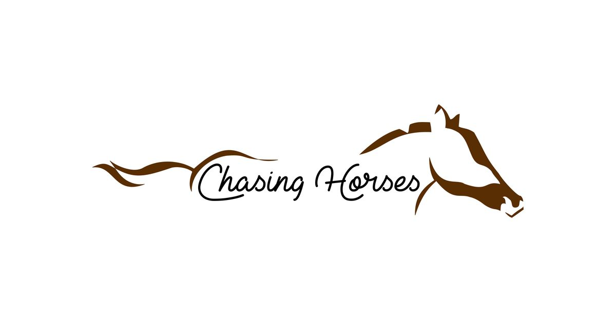 This is the Chasing Horses Logo.